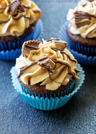 Cupcake chocolate ngọt ngào mê mẩn