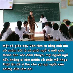 Góc khuất của nghề giáo viên