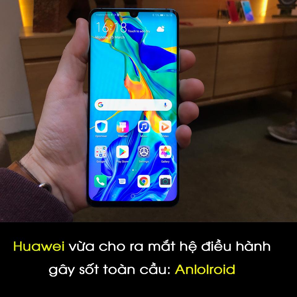 Anh em Huawei yên tâm rồi nhé