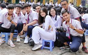 Zai xinh gái đẹp trường THPT Hùng Vương TPHCM