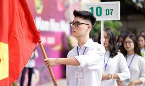 Trường THPT Việt Đức Hà Nội ngày khai giảng
