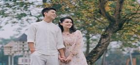 Ảnh cưới ngọt ngào của Duy Mạnh và Quỳnh Anh