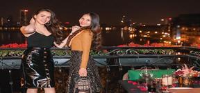 Trang Nhung đón sinh nhật bên chị gái