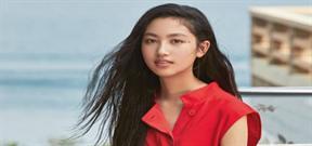 Vẻ đẹp tuổi 14 của con gái Nhậm Đạt Hoa