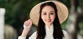 Nhan sắc mỹ miều của thí sinh Trần Thị Yến trong cuộc thi Hoa hậu Việt Nam