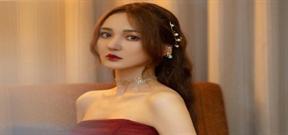 Nhan sắc đẹp tựa nữ thần của nữ MC Trung Quốc Cẩn Mộng Giai